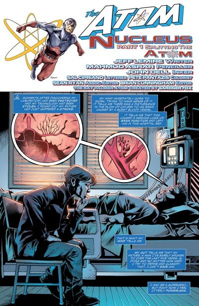 The Atom – Nucleus (Story Arc) (2010-2011)