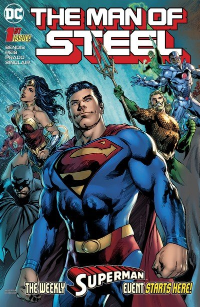 The Man Of Steel #1 – 6 (2018)