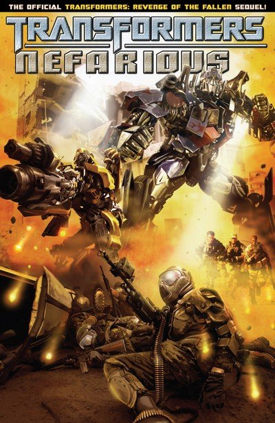 Transformers – Nefarious (TPB) (2010)