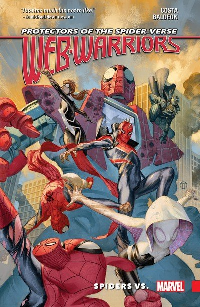 Web Warriors of the Spider-Verse Vol. 2 – Spiders Vs. (2017)