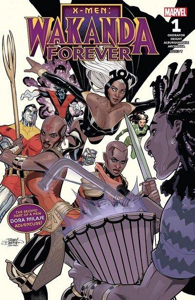 X-Men – Wakanda Forever #1 (2018)