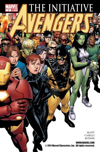 Avengers – The Initiative #1 – 35 (2007-2010)