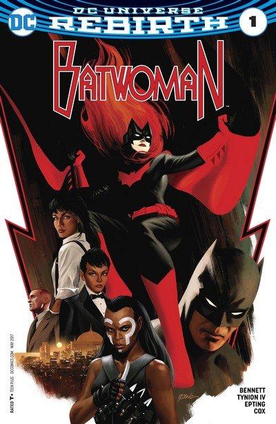Batwoman Vol. 2 Rebirth #1 + 1 – 18 + TPBs (2017-2018)