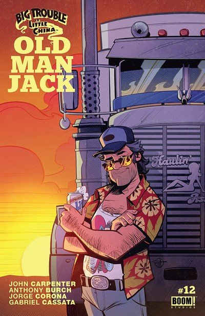 Big Trouble In Little China – Old Man Jack #12 (2018)