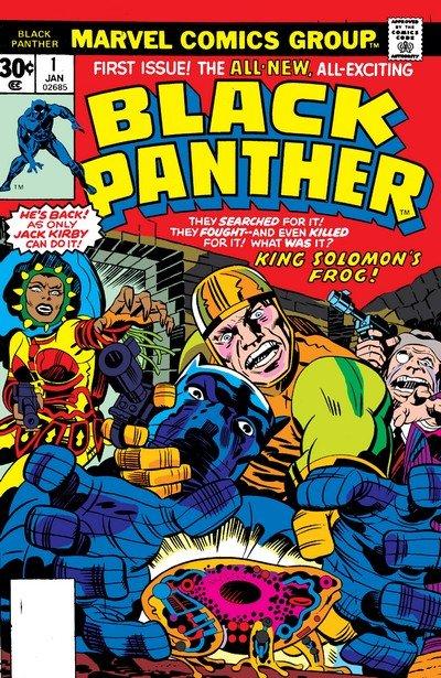 Black Panther Vol. 1 #1 – 15 (1977-1979)