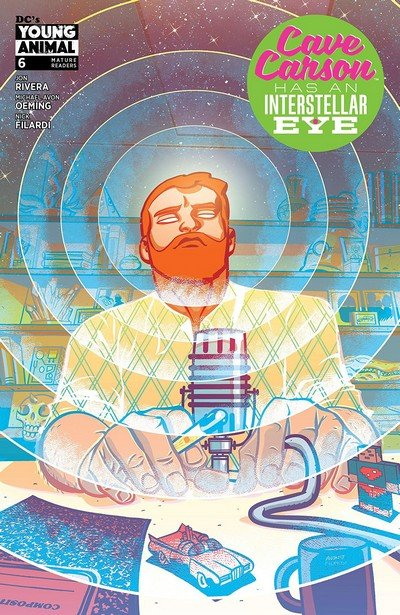 Cave Carson Has An Interstellar Eye #6 (2018)