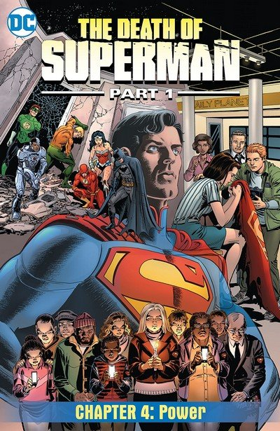 Death of Superman, Part 1 #4 (2018)
