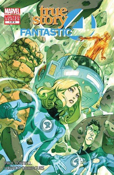 Fantastic Four – True Story #1 – 4 (2008-2009)