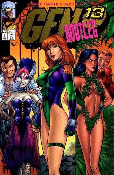 GEN 13 Bootleg #1 – 20 + Annual (1996-1998)
