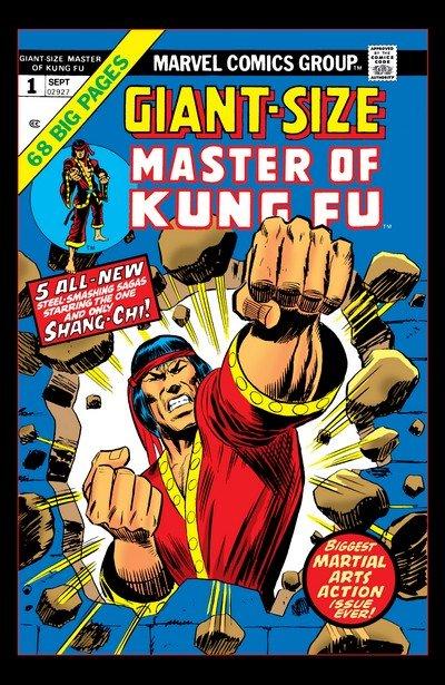 Giant-Size Master of Kung Fu #1 – 4 (1974-1975)