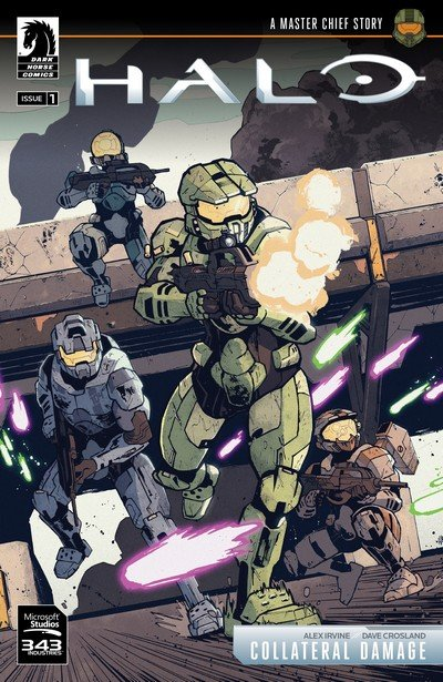 Halo – Collateral Damage #1 – 3 (2018)