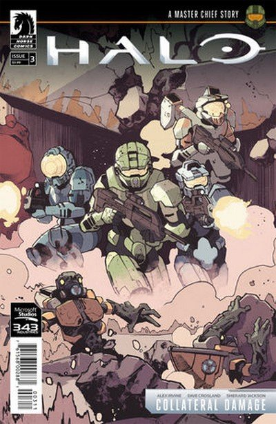 Halo – Collateral Damage #3 (2018)