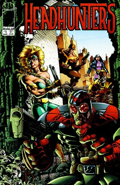 HeadHunters #1 – 3 (1997)