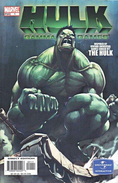 Hulk – Gamma Games #1 – 3 (2004)