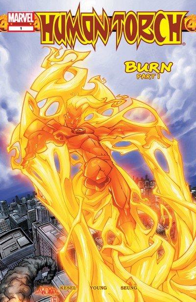 Human Torch #1 – 12 (2003-2004)