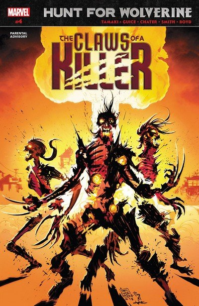 Hunt For Wolverine – Claws Of A Killer #4 (2018)