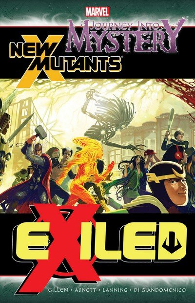 Journey Into Mystery-New Mutants – Exiled (TPB) (2012)