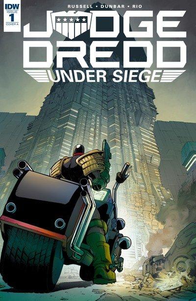 Judge Dredd – Under Siege #1 – 4 (2018)