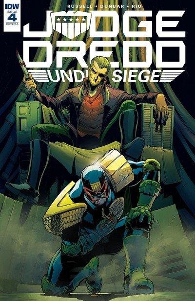 Judge Dredd – Under Siege #4 (2018)