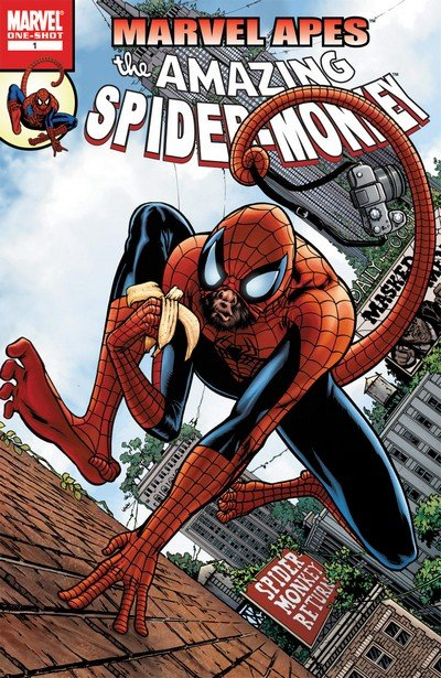Marvel Apes – Amazing Spider-Monkey (2009)