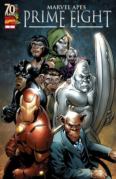 Marvel Apes – Prime Eight (2009)