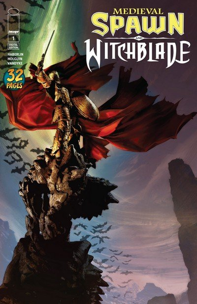 Medieval Spawn & Witchblade #1 – 4 (2018)