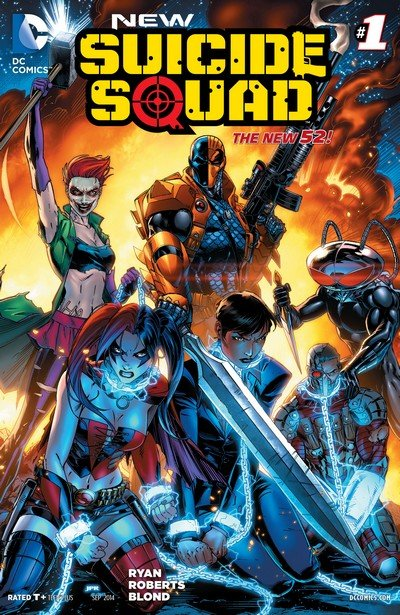 New Suicide Squad #1 – 22 + TPB + Extras (2014-2016)