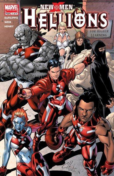 New X-Men – Hellions #1 – 4 (2005)