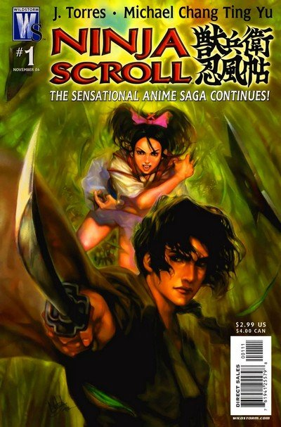 Ninja Scroll Vol. 1 – 3 (2006) (RC)