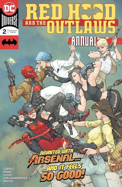 Red Hood And The Outlaws Annual #2 (2018)