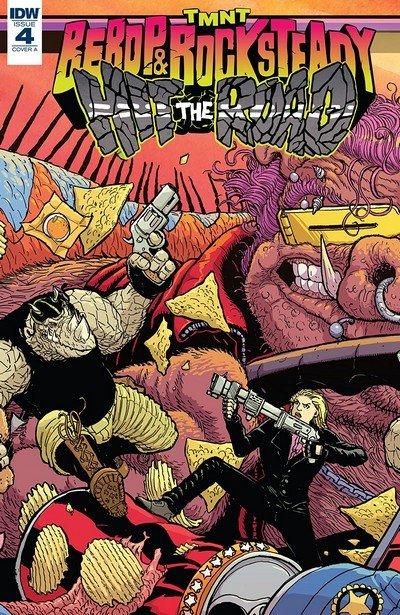 Teenage Mutant Ninja Turtles – Bebop And Rocksteady Hit The Road #4 (2018)