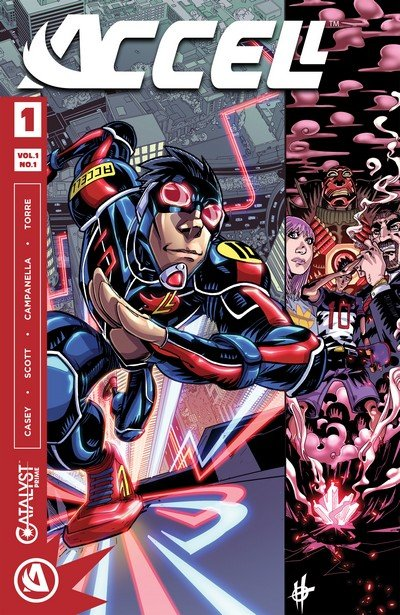 Accell #1 – 14 + TPB Vol. 1 – 2 (2017-2018)