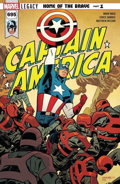 Captain America Vol. 8 #695 – 704 (2018) (and continued Vol. 1)