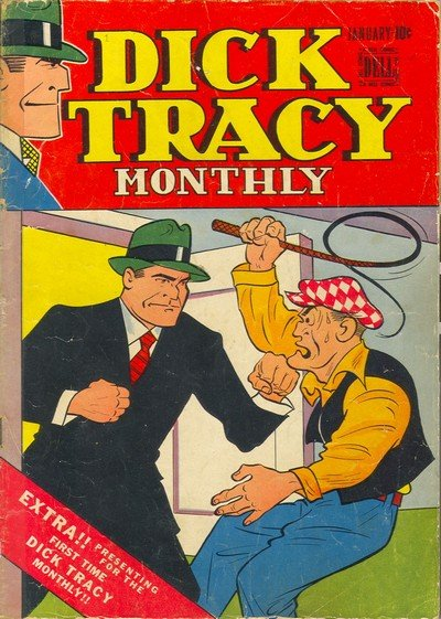 Dick Tracy Monthly #1 – 145 (1948-1961)