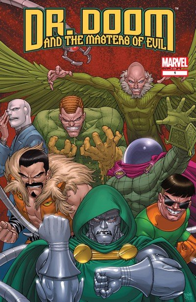 Doctor Doom and the Masters of Evil #1 – 4 (2009)