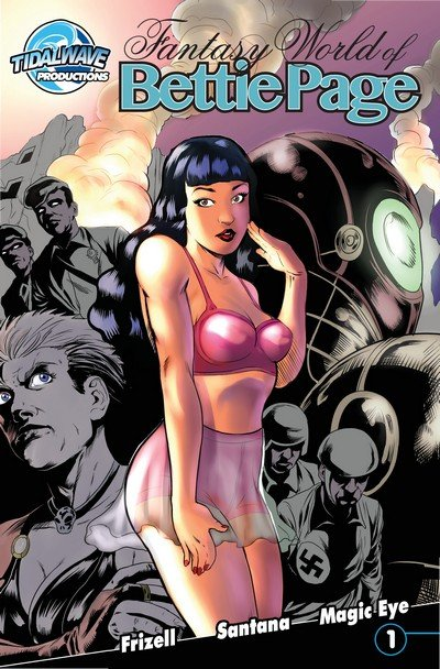 Fantasy World of Bettie Page #1 – 3 (2016-2018)