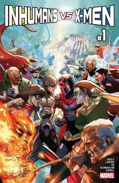Inhumans vs. X-Men (Story Arc) (2017)