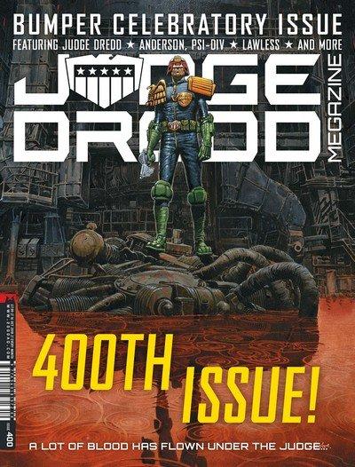 Judge Dredd Megazine #400 (2018)