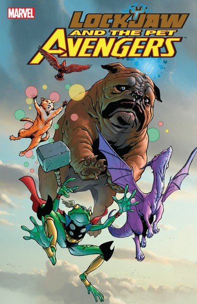 Lockjaw and the Pet Avengers (TPB) (2010)