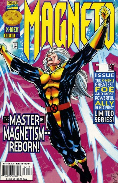 Magneto #1 – 4 (1996-1997)
