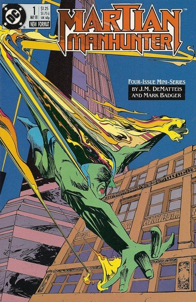 Martian Manhunter #1 – 4 (1988)