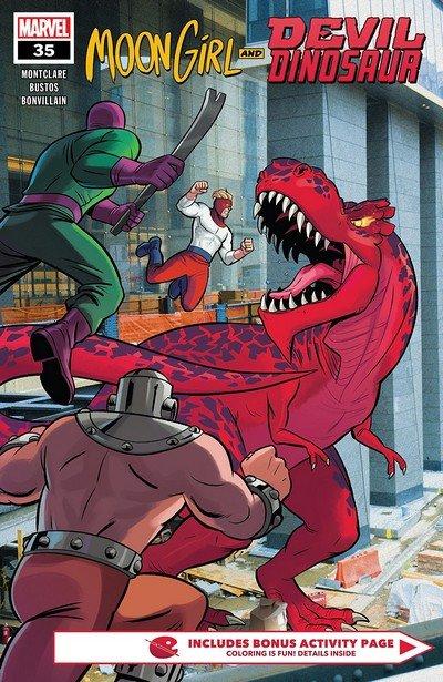 Moon Girl And Devil Dinosaur #35 (2018)
