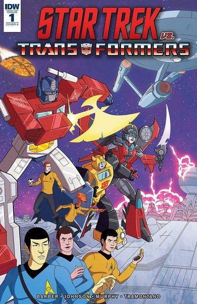 Star Trek vs. Transformers #1 (2018)