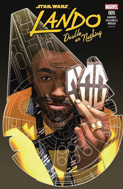 Star Wars – Lando – Double Or Nothing #5 (2018)