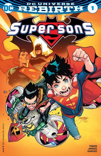 Super Sons #1 – 16 + TPB Vol. 1 – 3 (2017-2018)