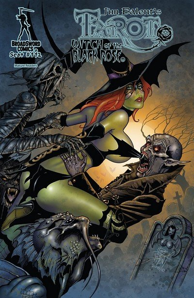 Tarot Witch of the Black Rose #112 (2018)