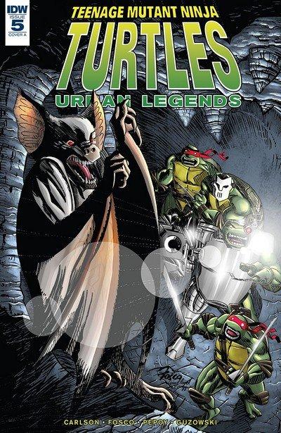 Teenage Mutant Ninja Turtles – Urban Legends #5 (2018)