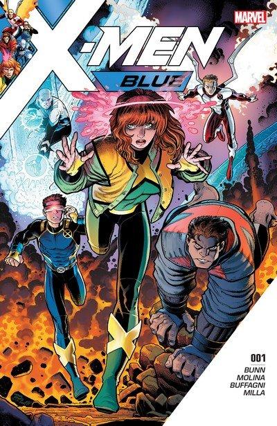 X-Men Blue #1 – 36 + TPB Vol. 0 – 5 (2017-2018)