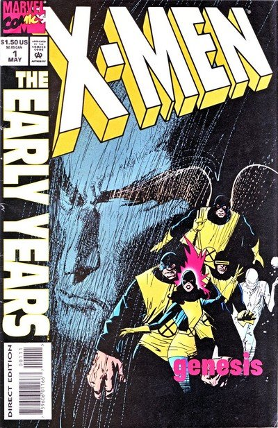 X-Men – The Early Years #1 – 17 (1994-1995)