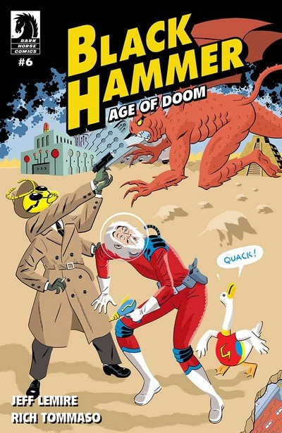 Black Hammer – Age Of Doom #6 (2018)